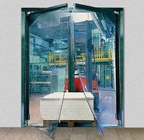 Эластичные двери